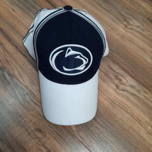 PSU White/ Navy Blue One-Fit Top of the World Hat